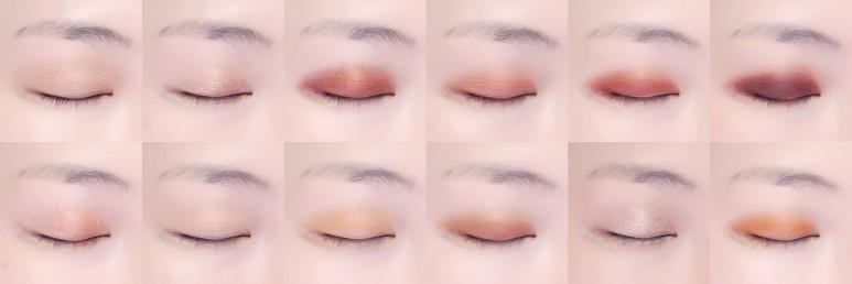 Bảng phấn mắt Etude House Hershey Play Color Eyes Mini Original & Cookie này thích hợp cho việc sử dụng make up hằng ngày