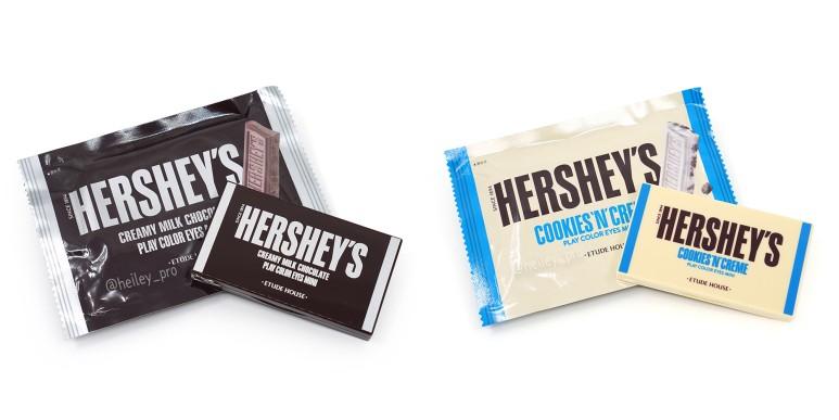Thiết kế bảng phấn mắt cũng giống với phần bên trong của chocolate